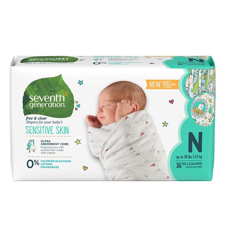 Bebek Bezi - Yeni Doğan (4,5 Kga kadar) - 36 Adet