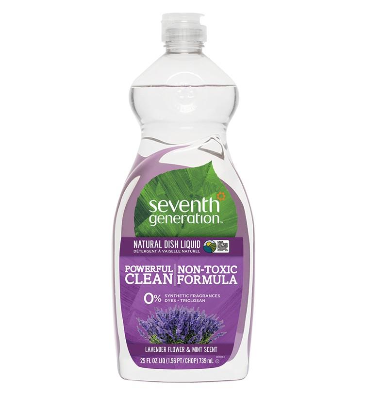 Doğal Sıvı Bulaşık Deterjanı – Lavanta Çiçeği & Nane