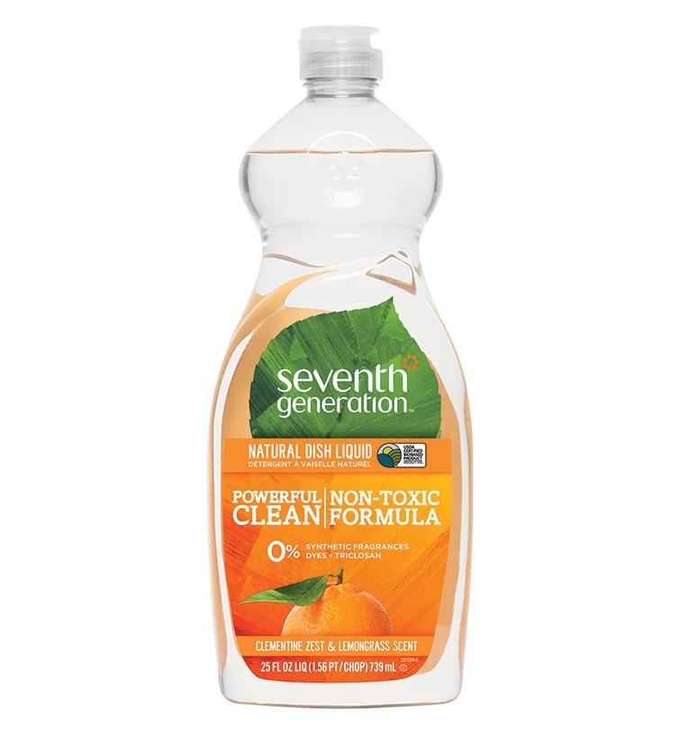 Doğal Sıvı Bulaşık Deterjanı - Limon otu & Mandalina Kabuğu