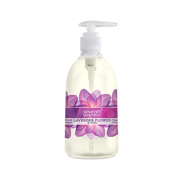 Doğal Sıvı El Sabunu – Lavanta Çiçeği & Nane